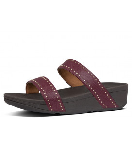 CHA CHA FRINGE TOE-THONG SANDALS -METALLIC